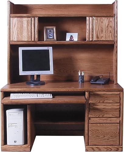 Forest Designs Bullnose Desk Hutch - a good cheap modern office desk