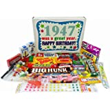 Compilation bonnie tyler sweet adam the ants the isley 1947 70th birthday gift box of retro nostalgic candy from childhood for a 70 year old m4hsunfo Choice Image