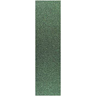4.5 x 16.5 inch Sheet of Scooter Glitter Grip Tape - SPARKLING GREEN Black Diamond