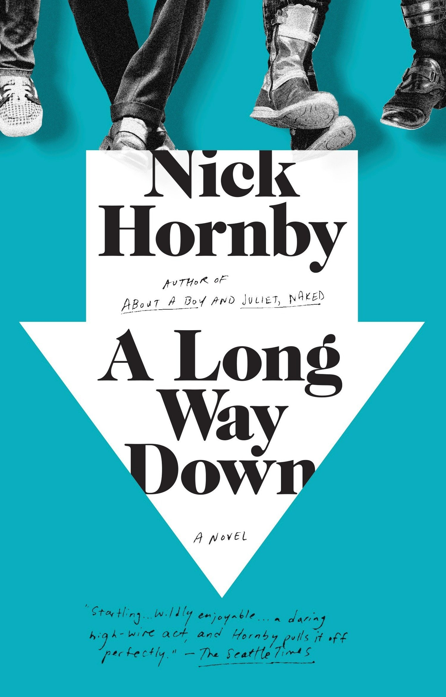A Long Way Down: Nick Hornby: 9781594481932: Amazon.com: Books