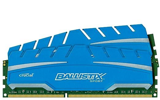 44 opinioni per Ballistix Sport XT Kit Memoria da 16 GB (8 GBx2), DDR3, 1866 MT/s, (PC3-14900)