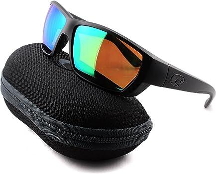 Costa Del Mar Tuna Alley Sunglasses TA-01-OGMP Blackout 580P Green Polarized