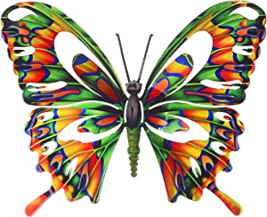 Next Innovations Wall Art Large Multi Colored Butterfly, Butterfly Wall Décor