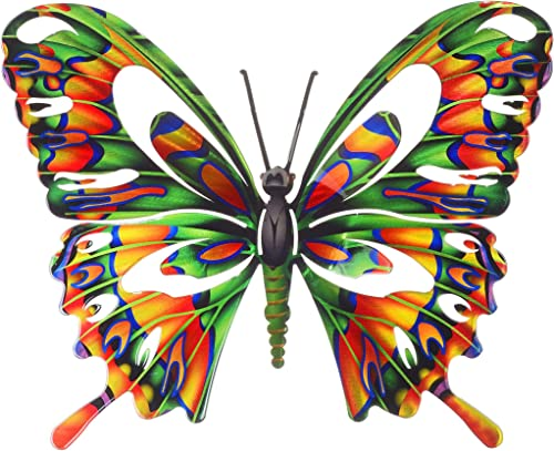 Next Innovations Wall Art Large Multi Colored Butterfly
