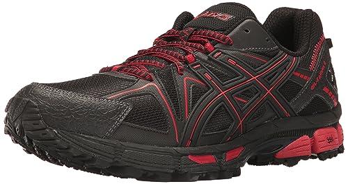 Details about ASICS Gel Kahana 8 Trail Running Shoes Men's US Size 8.5 Black Red Phantom New