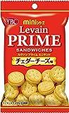 ヤマザキビスケット ルヴァンプライムミニサンド チェダーチーズ味 50g×10袋