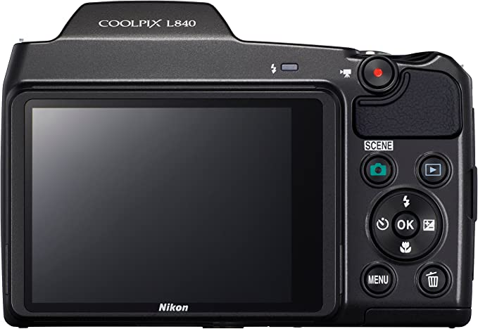 Nikon Coolpix L840 Digital Camera Black 3 0 Inch Amazon Co Uk Camera Photo