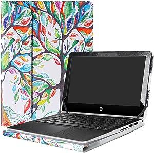 """Alapmk Protective Case Cover for 11.6"""" HP Pavilion x360 11 11M-adXXX 11-adXXX 11M-AD013DX Series Laptop(Warning:Not fit Pavilion x360 11 11-kXXX 11-uXXX 11-nXXX Series),Love Tree"""