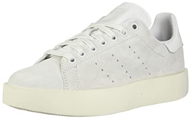new arrival a0462 fb6da adidas Originals Women's Stan Smith Bold W Running Shoe, Crystal White, ...