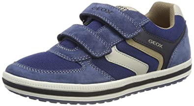 6b1cef36a97b Geox Boys' Jr Vita a Low-Top Sneakers: Amazon.co.uk: Shoes & Bags