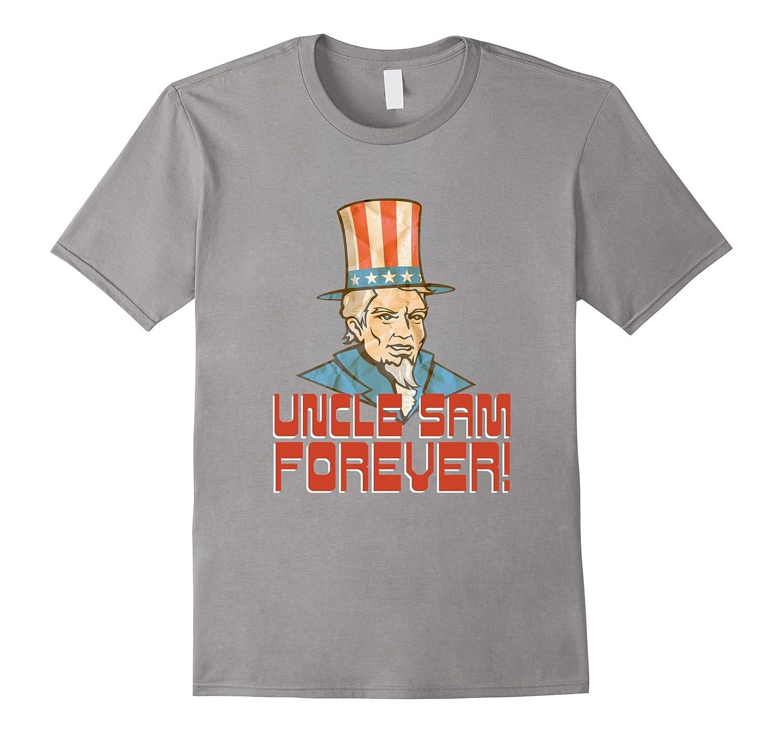 Vintage Uncle Sam Patriotic T Shirt for 4th of July-PL