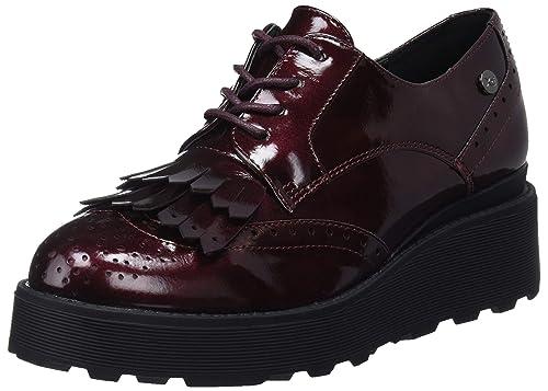 XTI 48404, Zapatos de Cordones Oxford para Mujer: Amazon.es: Zapatos y complementos