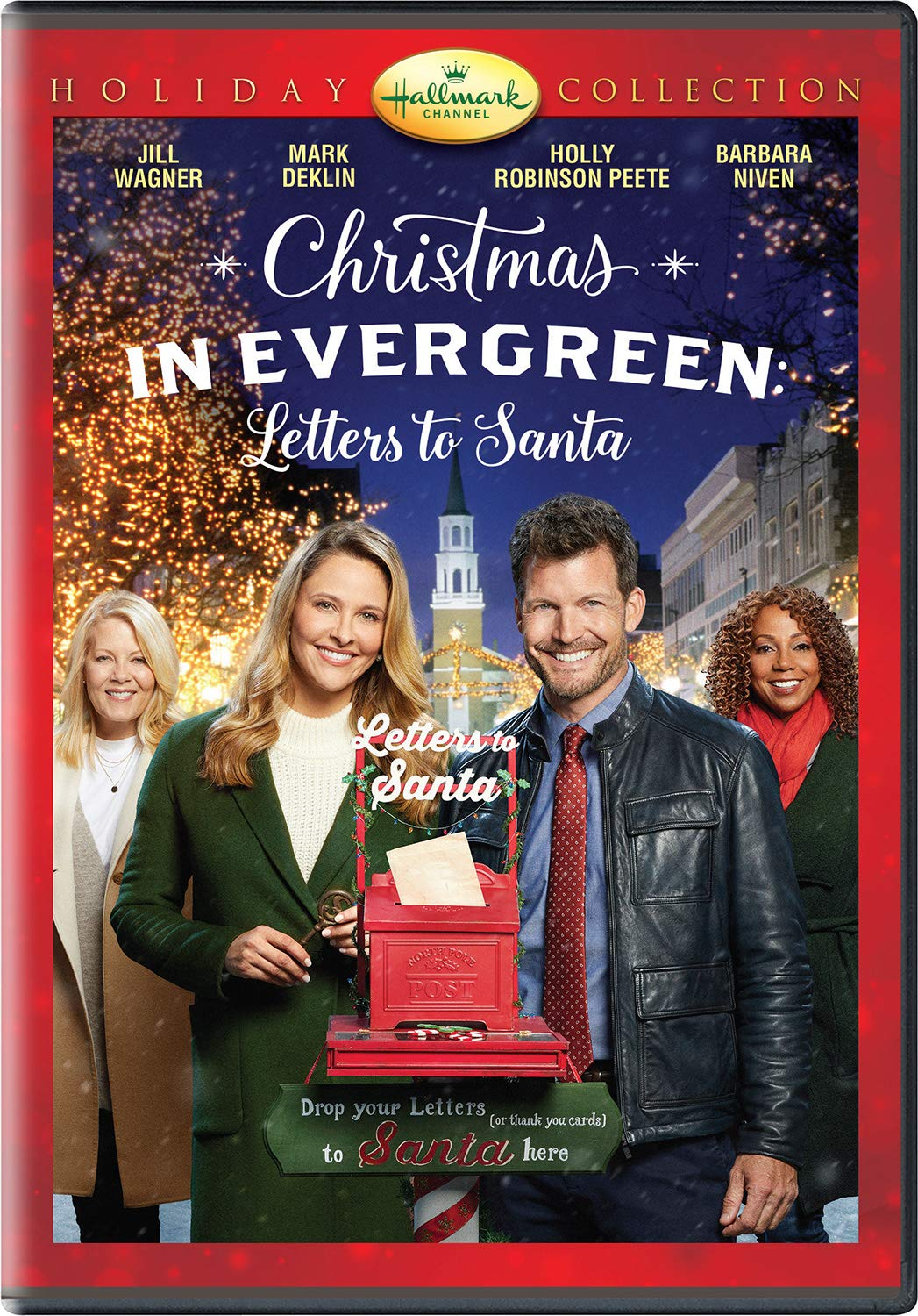 Christmas In Evergreen.Amazon Com Christmas In Evergreen Letters To Santa Jill