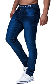 5f33591546 merish de 5 Pocket Denim Jeans Stretch Used Look Skinny Modelo j2021 ...