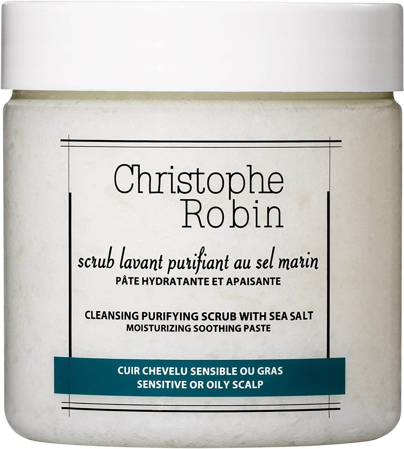 Cleansing Purifying Scrub with Sea Salt 250 ml by Christophe Robin ...