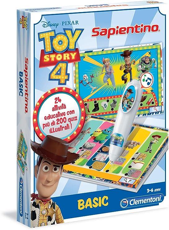 Clementoni- Disney Toy Story 4 Sapientino - Bolígrafo Basic, Multicolor (16191)