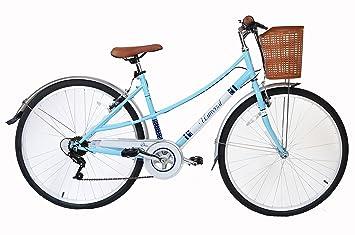 66da2110632 Muddy Fox Women s Chic Ladies Vintage Hybrid 6 Gear City Bike