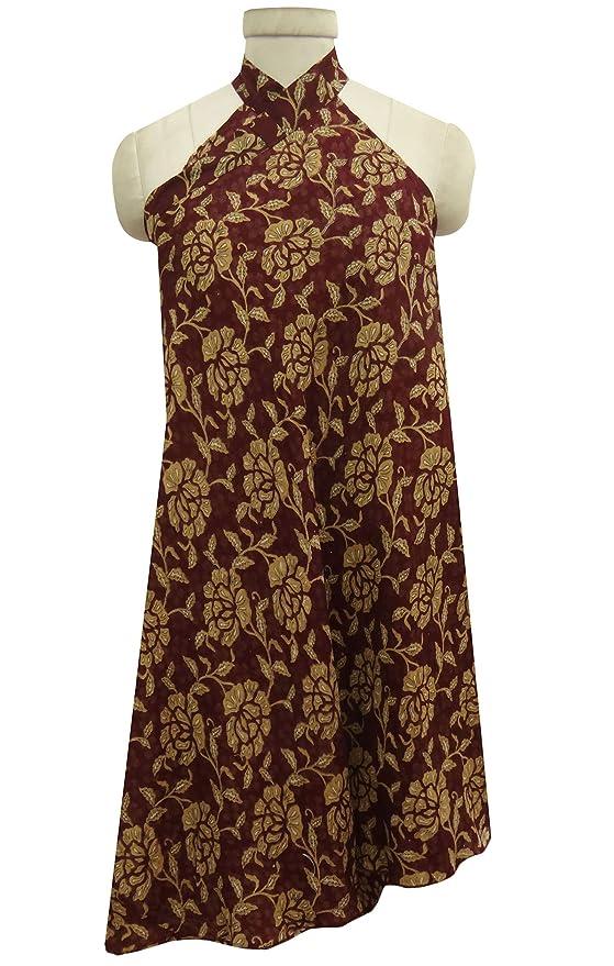 sheshe - Falda - Envolvente - Floral - para Mujer Marrón marrón ...
