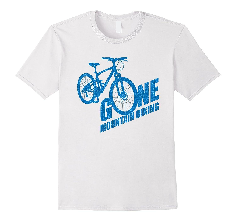 Mountain Bike Tshirt Gone MTB t-shirt-Rose