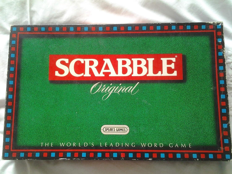 SCRABBLE. ORIGINAL 1988 BOARD GAME BY SPEARS GAMES by SPEARS GAMES: Amazon.es: Juguetes y juegos