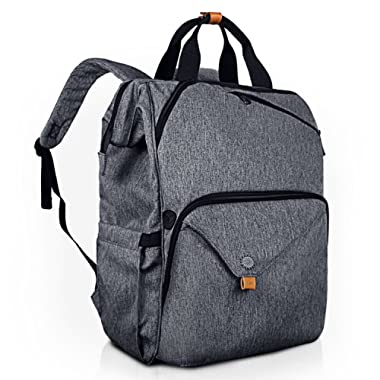 Hap Tim Laptop Backpack 15.6/14/13.3 Inch Laptop Bag Travel Backpack for Women/Men Waterproof School Computer Bag Large Capacity Bookbag for College/Travel/Business (7651US-BG)