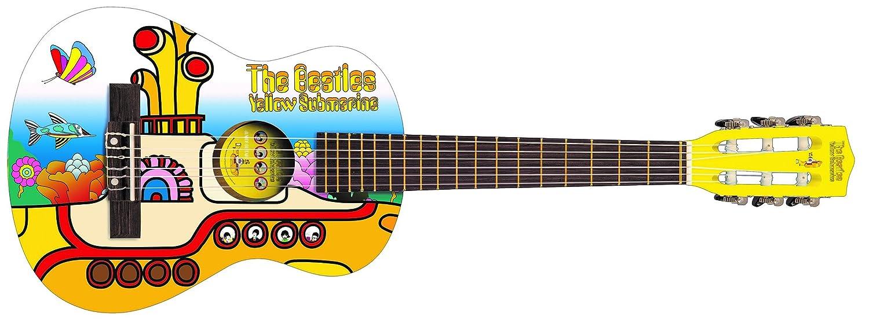 The Beatles Yellow Submarine YSJG02 Junior Gitarren Montur Gelb