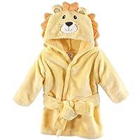 Luvable Friends Plush Bathrobe, Lion, 0-9 Months