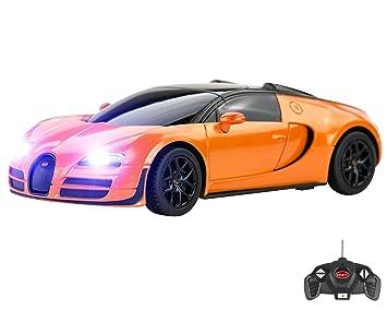 Bugatti Veyron Remote Control Car For Kids U2013 Working Lights U2013 PL9129  Electric Radio Controlled Bugatti