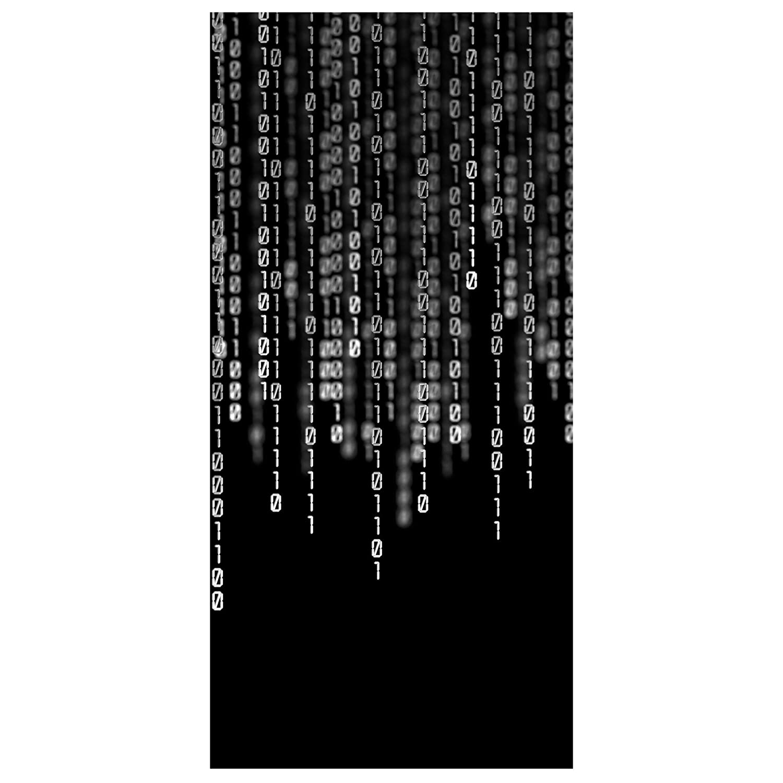 Binari Per Tende Pannello.Tenda A Pannello Binary Code Ii Dimensione 250x120cm Incl
