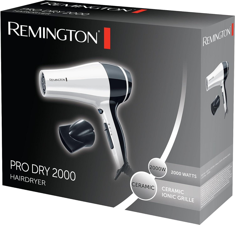 Remington Haartrockner Pro Dry D3080W, 2000 Watt, Keramik