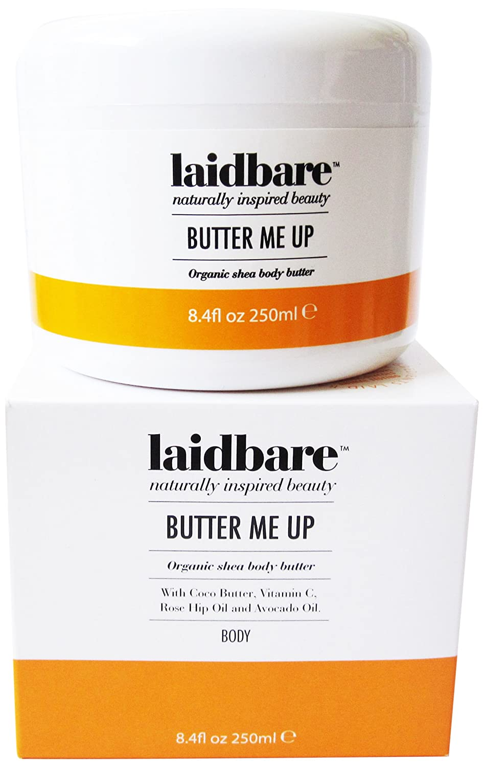 Butter Me Up Organic Shea Body Butter 250ml Touch my Face Ltd TMF7