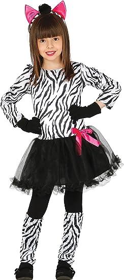 Guirca- Disfraz cebra, Talla 5-6 años (83229.0): Amazon.es ...