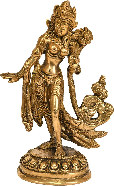 Exotic India Standing Goddess White Tara