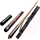 JBB combo13 (BLP cue with extension and black quarter cue cover)