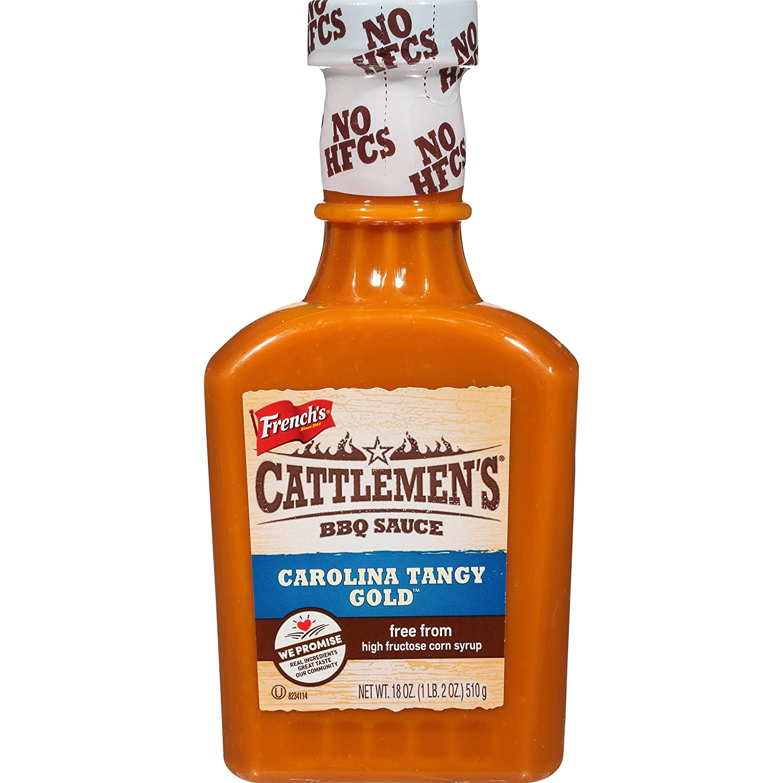Cattlemen's Carolina Tangy Gold BBQ Sauce, 18 oz
