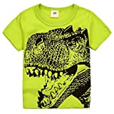Amazon Price History for:2Bunnies Little Boys Toddler Dinosaur T Rex Short Sleeve Tee T Shirt