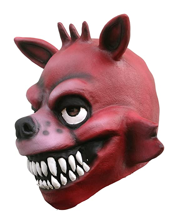 Amazon.com: FNAF 3 Five Nights at Freddy Game Foxy the Pirate Costume Cosplay Birthday Party Toys Dress Up Full Head Mask: Clothing