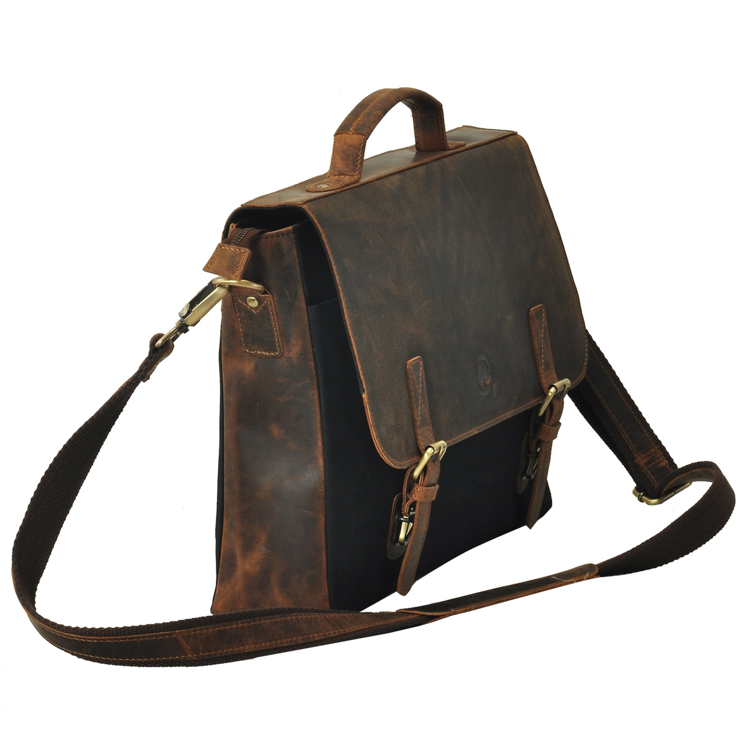 HOLIDAY DEALS !!! SALE TONY'S BAGS - 15.6 inch Laptop bag - College Bag, Office Bag, Business Bag Briefcase in Vintage Style