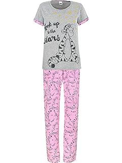Disney Winnie PU - Pijama para Mujer - Winnie The Pooh Tigger