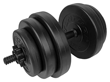 Tunturi Weight Set Mancuernas Vinilo, Unisex Adulto: Amazon.es: Deportes y aire libre