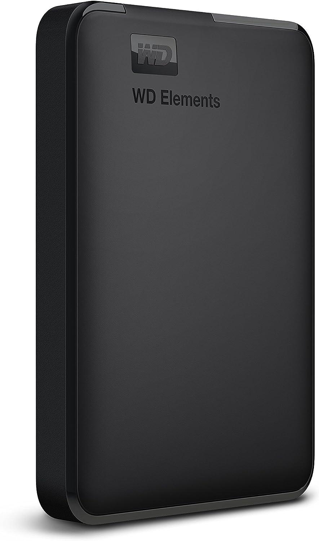 WD Elements - Disco duro externo portátil de 1,5 TB con USB 3.0, color negro