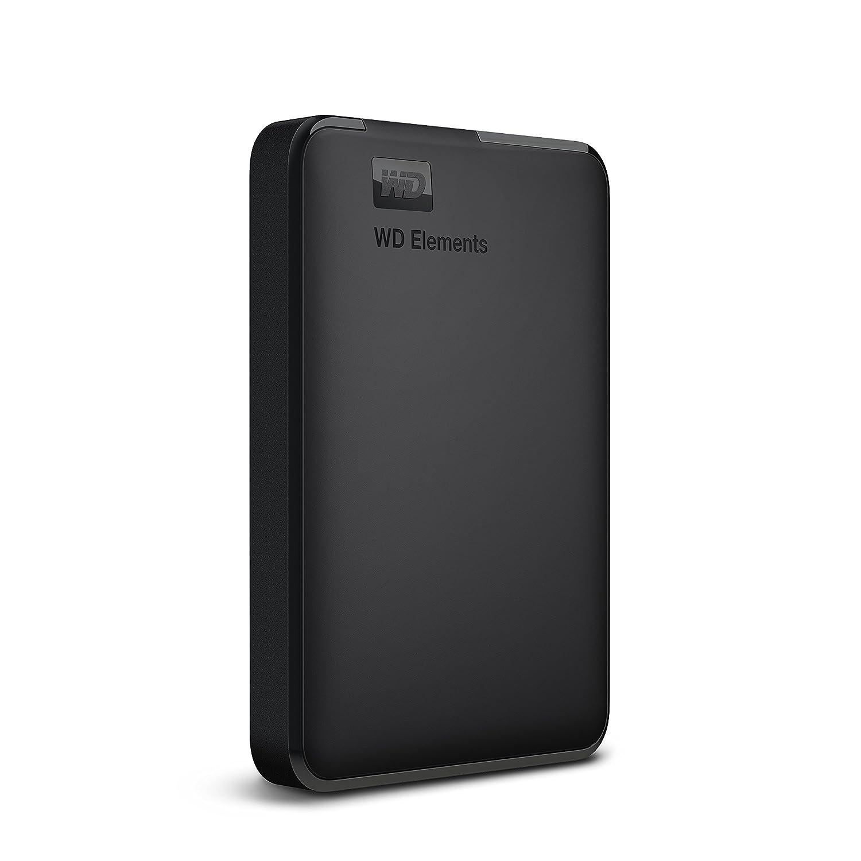 Western Digital WDBHDW0020BBK-EESN Elements 2TB Portable External Hard Drive (Black)