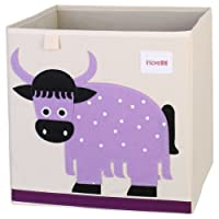 Boîte de rangement jouets de animé cube Toile Organisateur pliable pour enfants par ELLEMOI