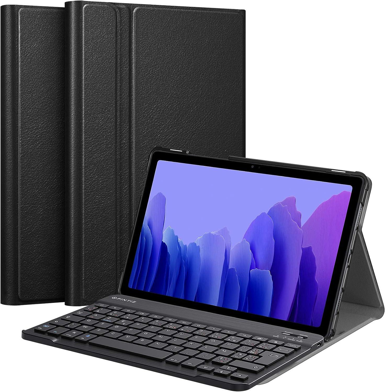Fintie Funda Para Teclado Para Samsung Galaxy Tab A7 2020 De 10 4 Amazon Es Electrónica