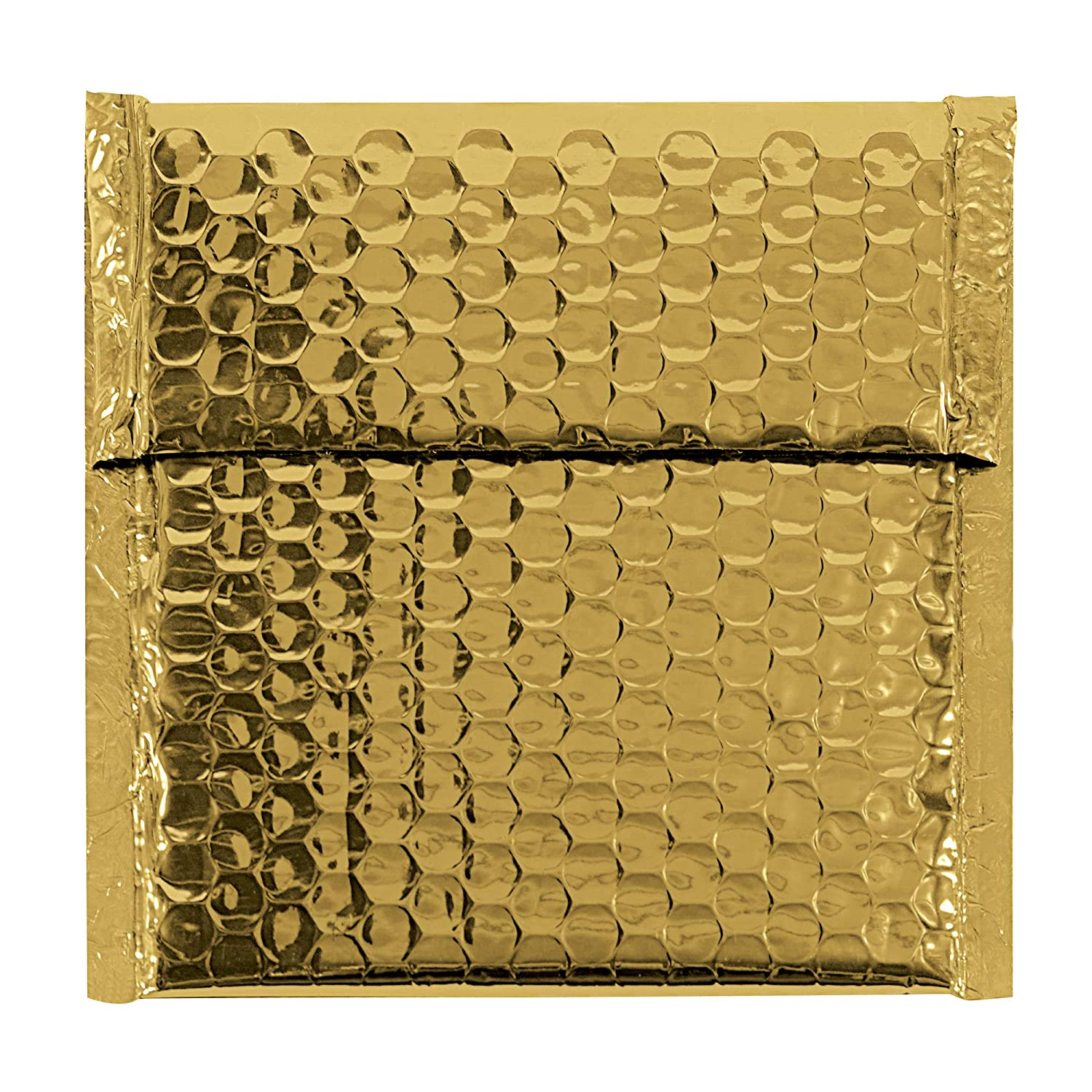 Gold 7 x 6 3//4 Pack of 72 BOX USA BGBM0706GD Glamour Bubble Mailers
