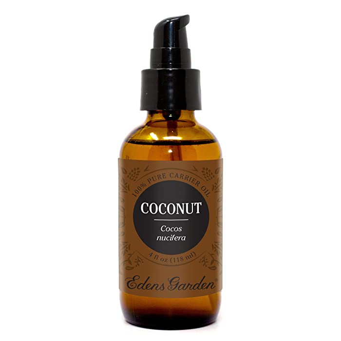 Edens Garden Fractionated Coconut Oil Carrier Oil (Best For Mixing With Essential Oils), 4 oz