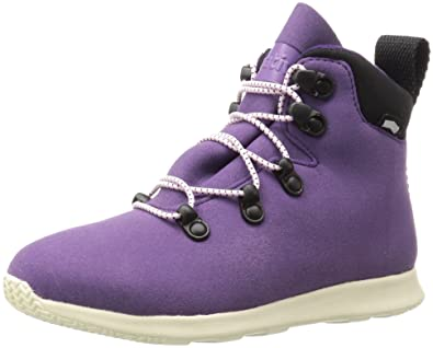 2c44dc0c2170 Native Shoes Girls  AP Apex Junior Hiking Boot Betprp Bnwht 1 M US Little