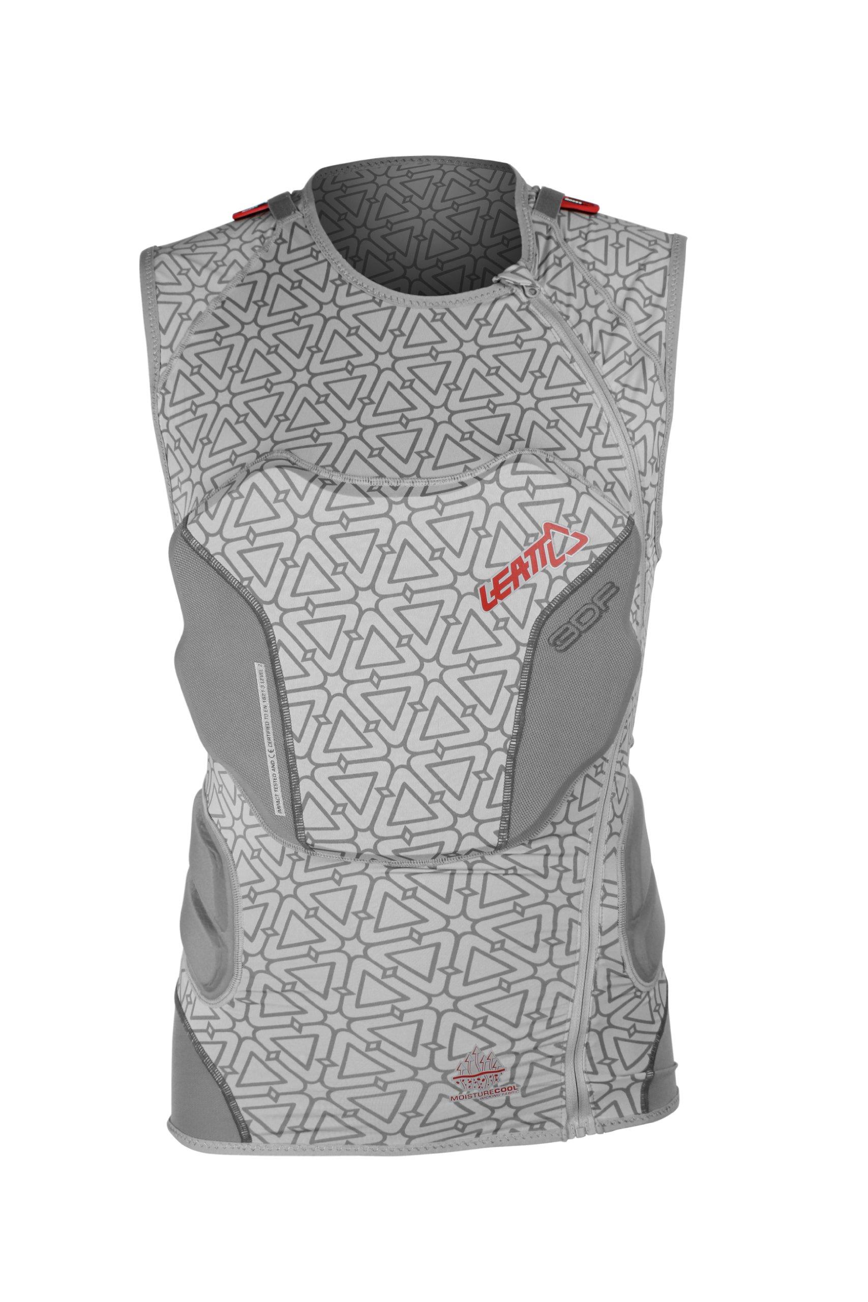 Leatt 3DF Body Vest (Black, Small/Medium)