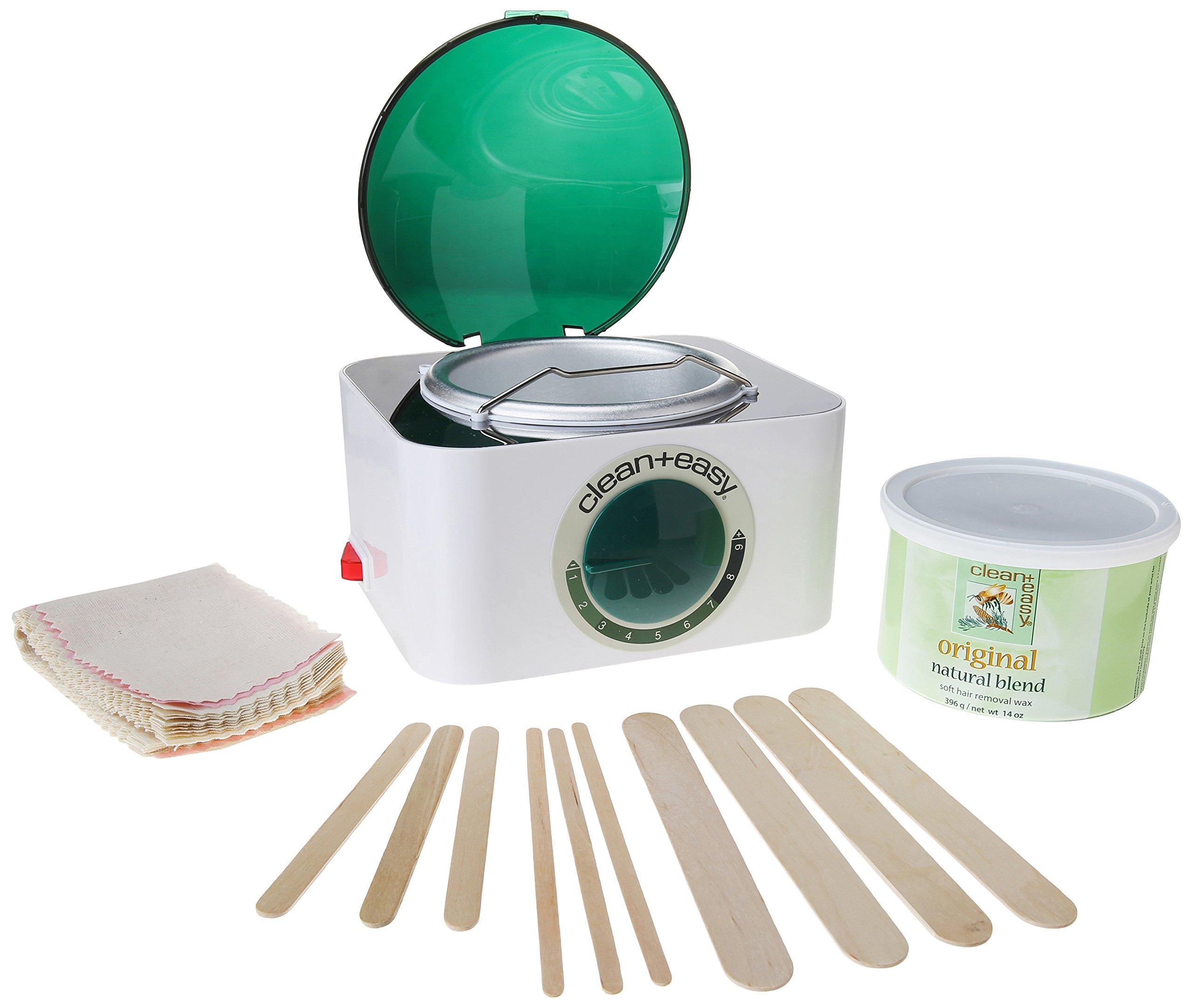 Clean + Easy Professional Pot Wax Mini Kit, 480 Ounce