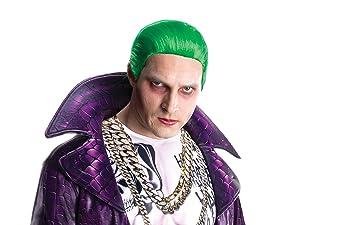 Peluca de Joker Escuadrón Suicida